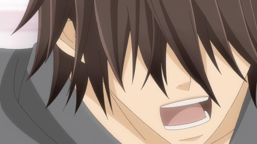 Chiaki screaming at Yoshiyuki